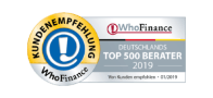 Who Finance Top Berater 2019